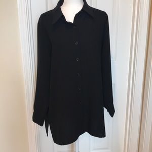 NY&CO XL Long Sleeve Button Front Shirt
